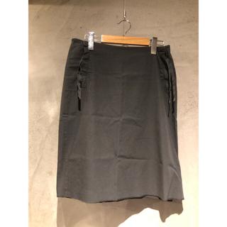 エムエムシックス(MM6)のMM6 スカート グレー(ひざ丈スカート)