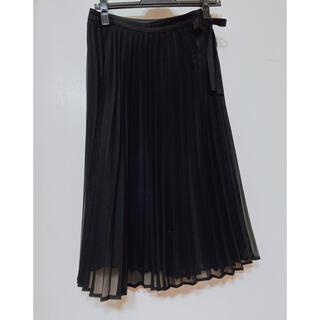 STRAWBERRY-FIELDS - 未使用✧︎STRAWBERRY FIELDS 黒シフォンプリーツスカート