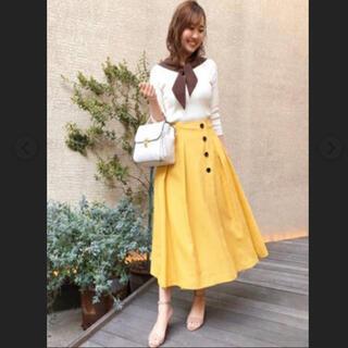 ノエラ(Noela)のNoela☆新品未使用タグ付き☆ハイウエストフレアスカート(ロングスカート)