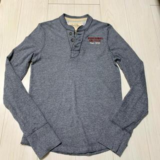 アバクロンビーアンドフィッチ(Abercrombie&Fitch)のアバクロ メンズヘンリーネックロンT(Tシャツ/カットソー(七分/長袖))