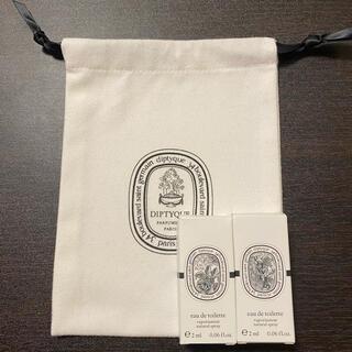 diptyque - ディプティック 巾着 サンプル オーローズ  ヴェチヴェリオ