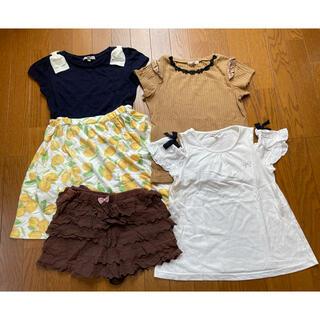 anyFAM(夏物)子供服4点セットサイズ140