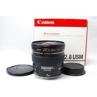 キヤノン(Canon)のCanon EF 20mm F2.8 USM(レンズ(単焦点))