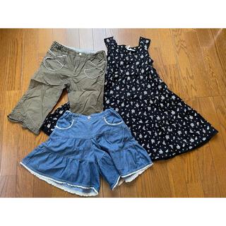 エニィファム(anyFAM)のanyFAM(夏物)子供服3点セットサイズ130(その他)
