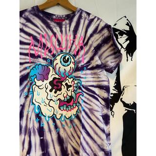 ミシカ(MISHKA)のミシカ MISHKA タイダイTシャツ くっきー パンクドランカーズ(Tシャツ/カットソー(半袖/袖なし))