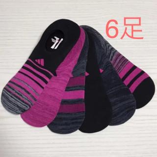 アディダス(adidas)の新品 コストコ アディダス レディース  ソックス 6足セット(ソックス)