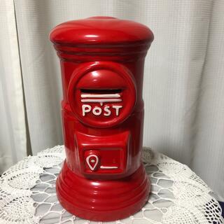 郵便ポスト型 貯金箱(その他)