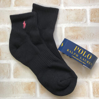 POLO RALPH LAUREN - ラルフローレン  ワンポイント ソックス 靴下 スクールソックス