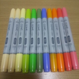 コピックチャオ 11本+1本(カラーペン/コピック)