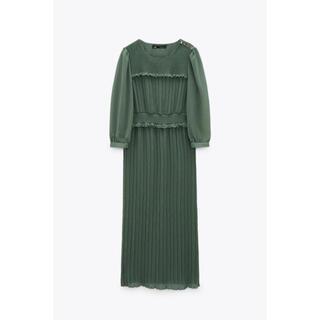 ザラ(ZARA)の【新品】ZARA ドレス(ミディアムドレス)