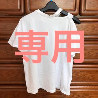 EMODA - エモダ  白t 肩空きtシャツ