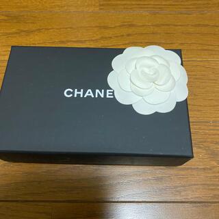 シャネル(CHANEL)のカメリア 付き CHANEL箱(ショップ袋)