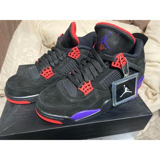 ナイキ(NIKE)のNike Air Jordan 4 Raptors Drake OVO ドレイク(スニーカー)