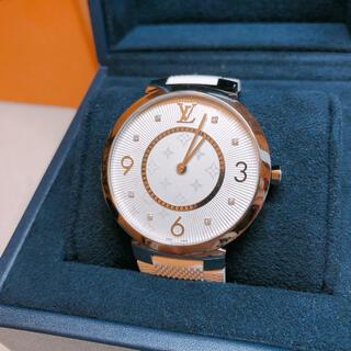 ルイヴィトン(LOUIS VUITTON)のルイヴィトン LV VUITTON タンブールGM 8Pダイヤ腕時計(腕時計(アナログ))