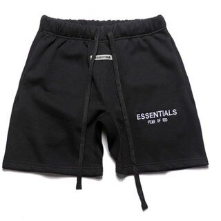 Essential - エッセンシャルズESSENTIALS■フロントロゴスウェットショーツパンツ