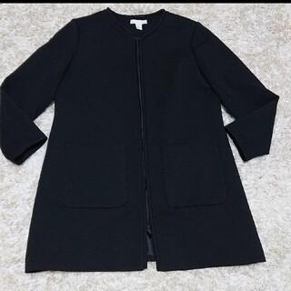 H&M - GW限定3500→2999!H&M 大きいサイズ 春ノーカラーコート