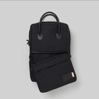 エンダースキーマ(Hender Scheme)のHS Shuttle Daypack Slim (black)(バッグパック/リュック)