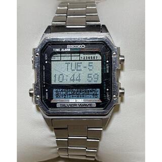 セイコー(SEIKO)のSEIKO セイコー SILVER WAVE シルバーウェーブD409-5030(腕時計(デジタル))