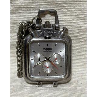 ジッポー(ZIPPO)のZIPPO ジッポ 懐中時計 chronograph クロノグラフ(腕時計(アナログ))