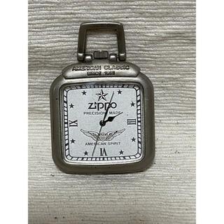 ジッポー(ZIPPO)のZIPPO ジッポー 懐中時計 クオーツ アメリカンスピリット シルバーカラー(腕時計(アナログ))