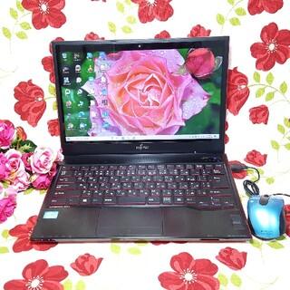 富士通 - 小型PC/3世代CORE‐i5/メモリ8GB/新品SSD240GB/カメラ搭載