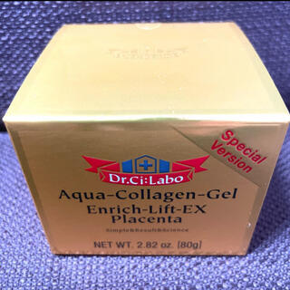 ドクターシーラボ(Dr.Ci Labo)の【おまけ付き】プラセンタ アクアコラーゲンゲル エンリッチリフトEX  1個(オールインワン化粧品)