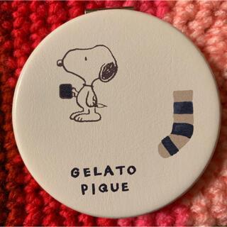 gelato pique - ジェラートピケ ×スヌーピー    コンパクトミラー