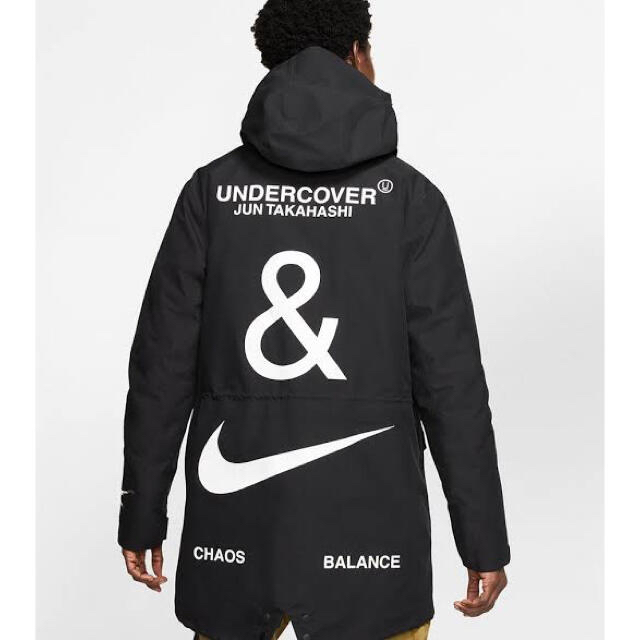 UNDERCOVER(アンダーカバー)のNIKE×UNDERCOVER 3レイヤーフィッシュテイルパーカー メンズのジャケット/アウター(ダウンジャケット)の商品写真
