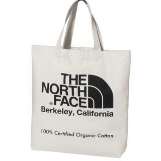 THE NORTH FACE - 21年モデル 新品 未使用 ノースフェイス オーガニックコットン トート  黒