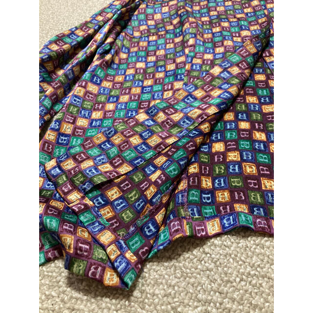 BURBERRY(バーバリー)のBurberry 柄 シャツ ブラウス15号 長袖 レディースのトップス(シャツ/ブラウス(長袖/七分))の商品写真