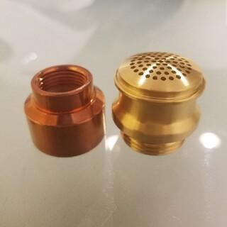 ペトロマックス(Petromax)のhk500 ペトロマックス ノズル チャンバー 真鍮削り出し(ライト/ランタン)