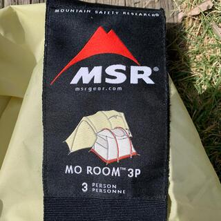 エムエスアール(MSR)の【GW限定価格〜5/9】廃版 超希少 MSR MO ROOM 3 美品(テント/タープ)