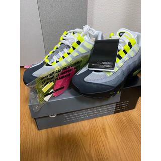 "ナイキ(NIKE)のNIKE GS AIR MAX 95 OG ""NEON YELLOW"" 2020(スニーカー)"