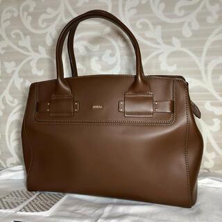 フルラ(Furla)の美品 FURLA ハンドバッグ 保存袋付き(ハンドバッグ)