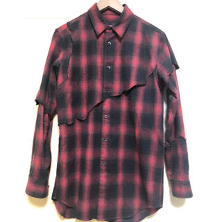 ジョンローレンスサリバン(JOHN LAWRENCE SULLIVAN)のyuki hashimoto★layered destroy shirts(シャツ)