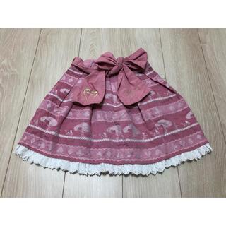 Shirley Temple - シャーリーテンプル スカート 120cm 110cm 不思議の国のアリス