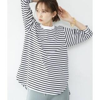 IENA - IENA【イエナ】☆ラウンドテールプルオーバー 新品ブラックA