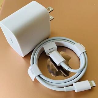 iPhone - Appleアップル18wの純正USBーC充電ケーブル。 :
