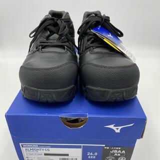 MIZUNO - ミズノ/MIZUNO 安全靴 紐タイプ ブラック (26.0cm)