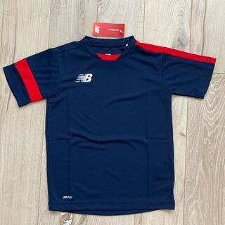 ニューバランス(New Balance)の130cm ニューバランス jr トレーニングTシャツ (新品送料込)(Tシャツ/カットソー)