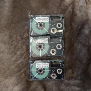 CASIO - CASIO ネームランド用テープ 12mm 3本セット