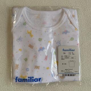 familiar - ファミリア 半袖シャツ