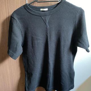 GU - GU キッズ リブTシャツ男女兼用