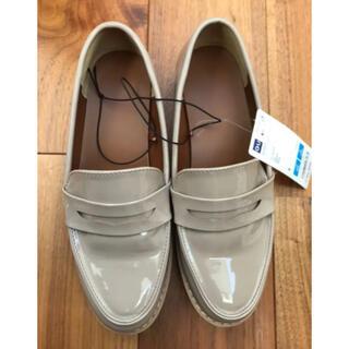 ジーユー(GU)の新品GU タンクソール ローファーSサイズ(ローファー/革靴)