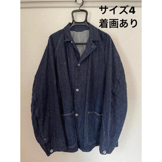 COMOLI - 値下げ!! COMOLI 21ss デニムワークジャケット 4