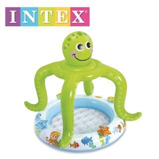 INTEX(インテックス) ♪ベビープール スマイルオクトパスシェード