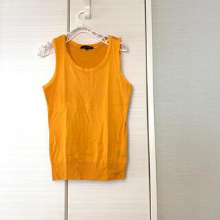 ロートレアモン(LAUTREAMONT)のロートレアモン ニットソー オレンジ(カットソー(半袖/袖なし))