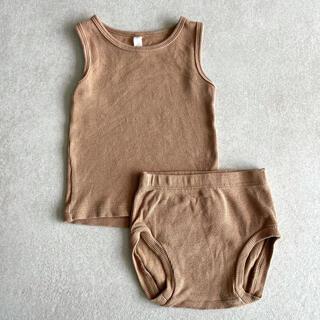 Caramel baby&child  - Quincy Mae クインシーメイ ブルマ タンクトップ 6-12m