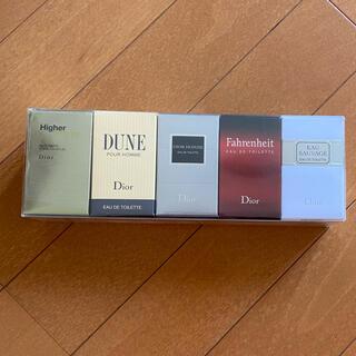 クリスチャンディオール(Christian Dior)のディオール オム 香水 5本セット(香水(男性用))