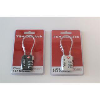 新品 Viane TSA Dial lock 2個セット(旅行用品)
